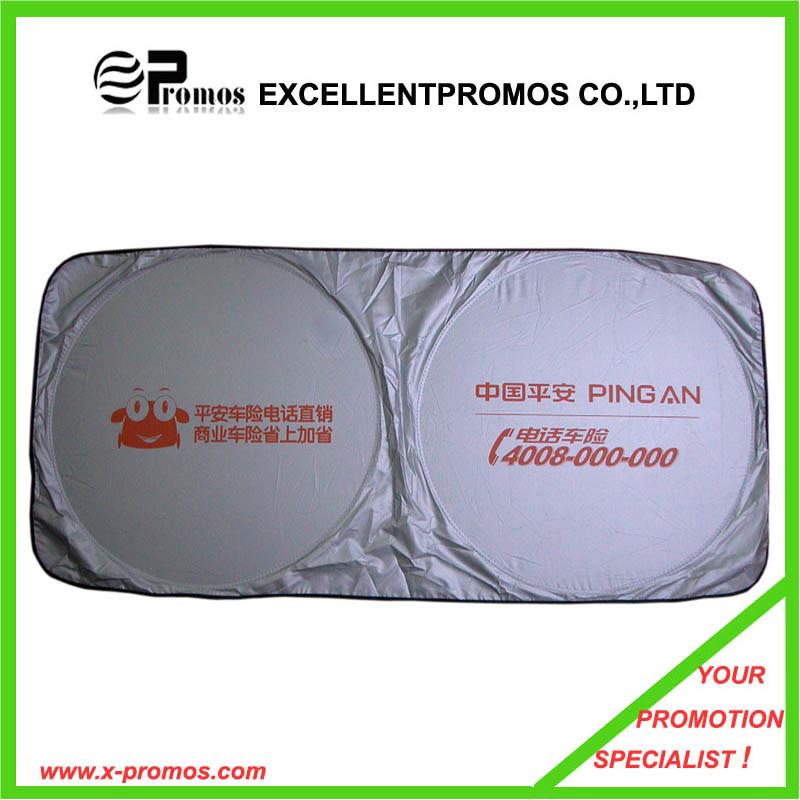 Nylon Logo Printed Car Sunshade (EP-CS1005)