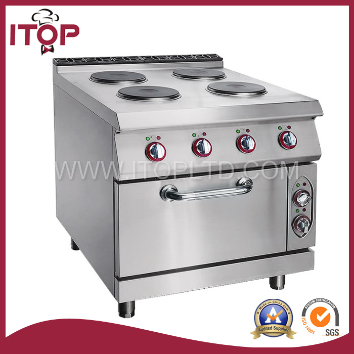 4 Burner Electric Hot Plate with Cabinet (XR900-TT)