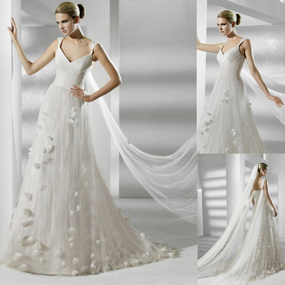China 2012 popular elegant wedding dress bridal gown for Elegant wedding party dresses