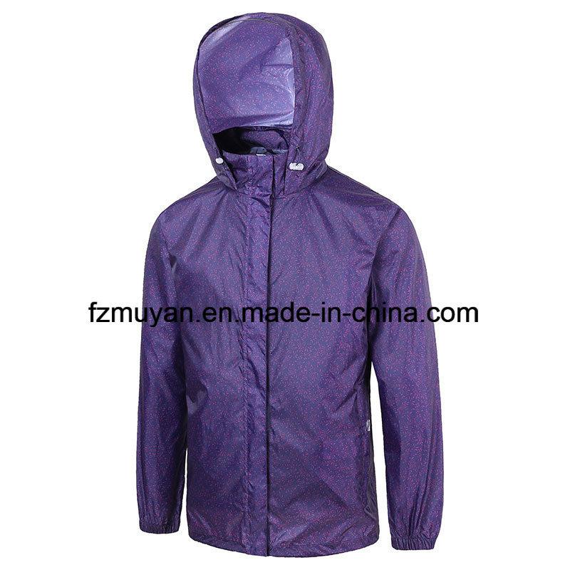 Breathable Waterproof Hooded Raincoat Jacket