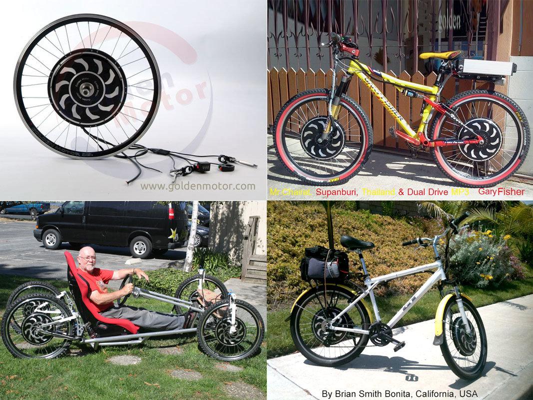 China Electric Bike Kit For Swiss E Bike Motor Kit With 48v 12ah