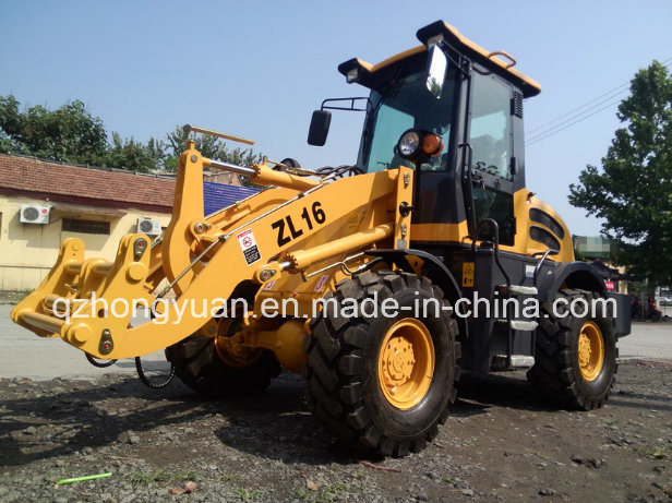 1.6ton Wheel Loader Zl16f with Ce Certificate