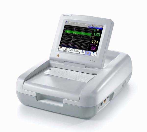 Ultrasound Doppler Twins Touchscreen Fetal Monitor with Ce (SC-STAR5000D)
