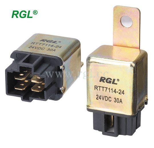 40 AMP Automotive Relay With Metal Tab - China Automotive Relay, Relay