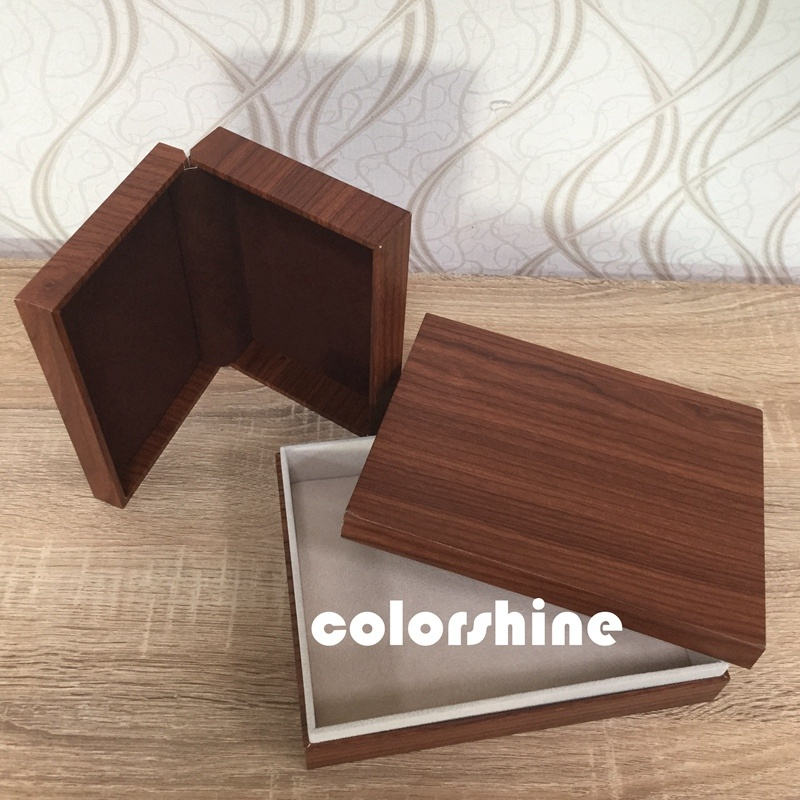 Classic Wooden Like Jewellery Packing Gift Box