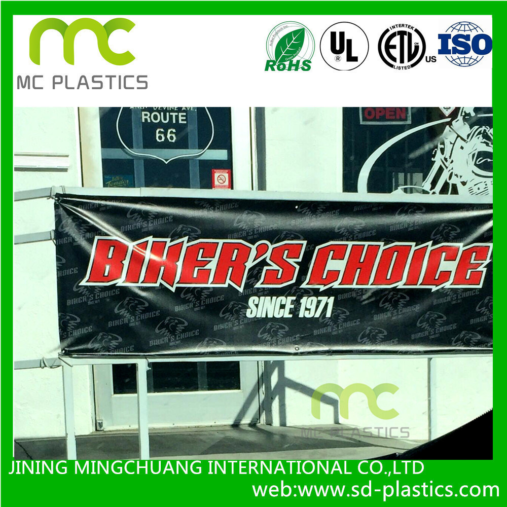 PVC Banner/Advertising/Light Box Lamination or Coating Film for Tent Outdoor/Tarpaulin/Truck Cover/Swimming Poor/Advertisement