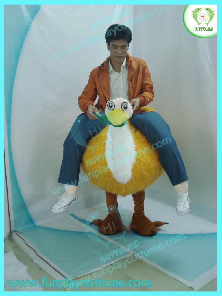 Костюм страуса своими руками