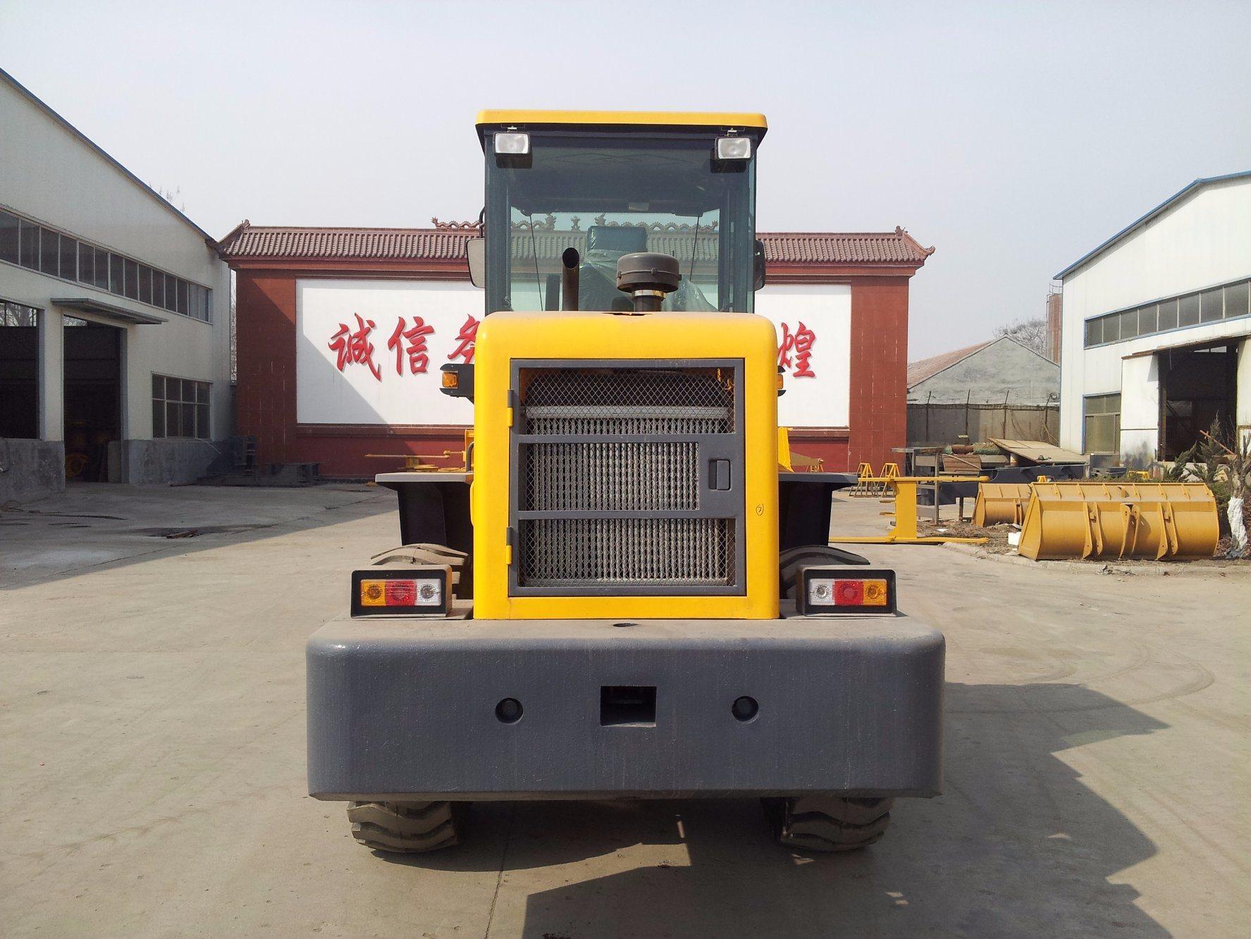 2.8 Ton 1.5cbm Bucket Hydraulic Medium Wheel Loader with CE