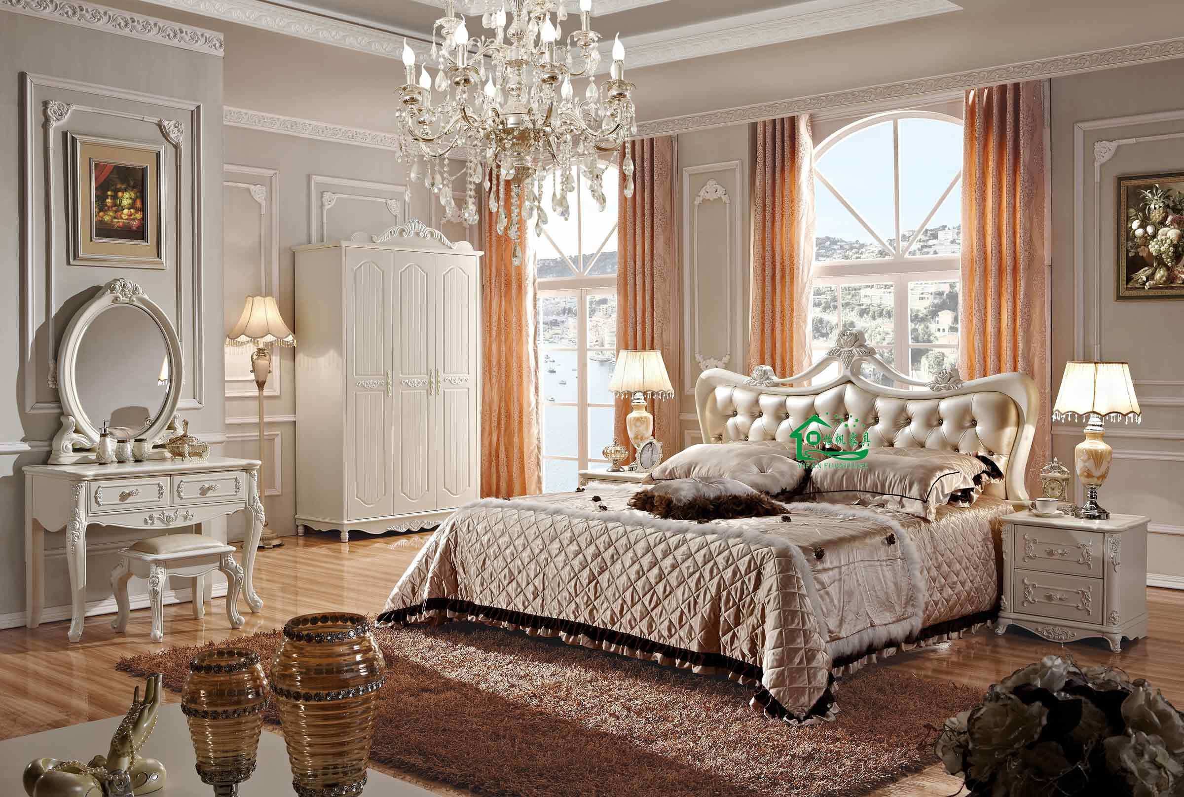 China 2013 new design french bedroom furniture yf 8699 for French antique bedroom ideas