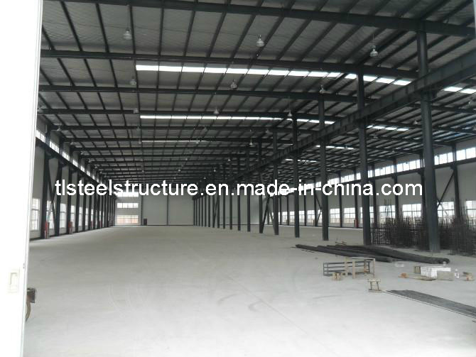 Steel Frame Structure Prefabricated Warehouse for Sale