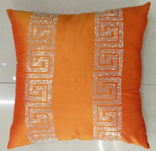 Hand-Made Decorative Pillow Diamond Ironing Decorative Cushion (XPL-53)