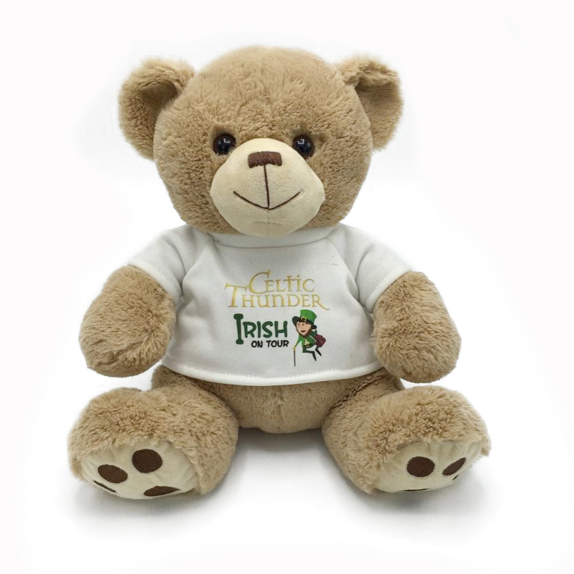 Cute Plush Teddy Bear with Custom Made T Shirt