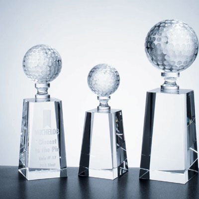 New Arrival Customized Design Popular Crystal Glass Trophy Award for Promotional Gifts