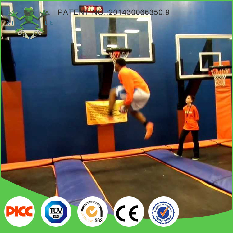 Professional Basketball Trampoline Park for Sale