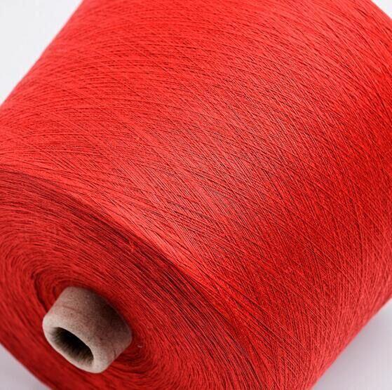 100% PP Ring Spun Polyester Yarn Cationlic Dyed