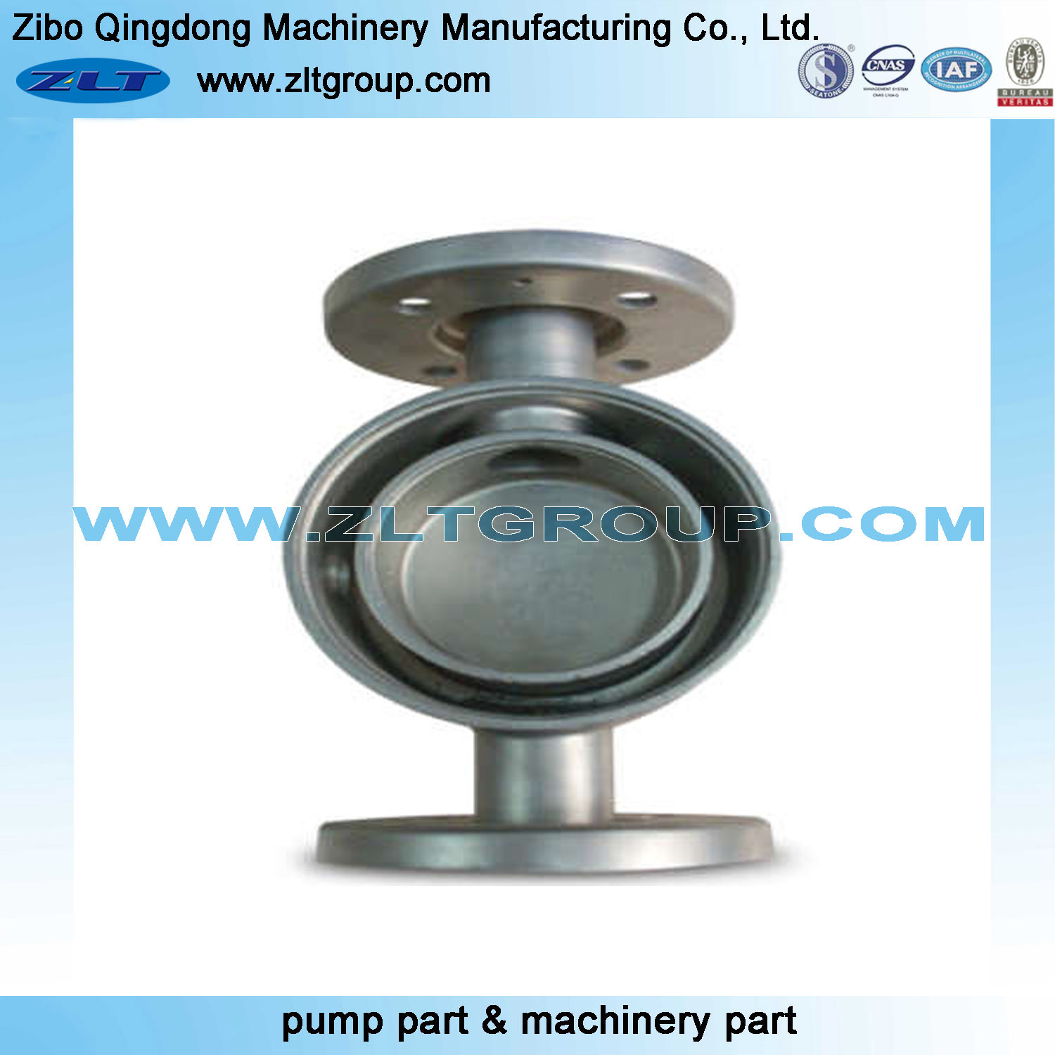 CNC Machining Part Valve Body for Pump