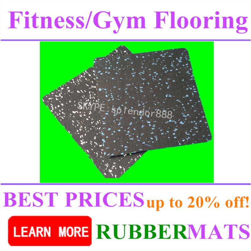 Interlock Gym Exercise Industrial Flooring Mats Rolls Rubber Mat