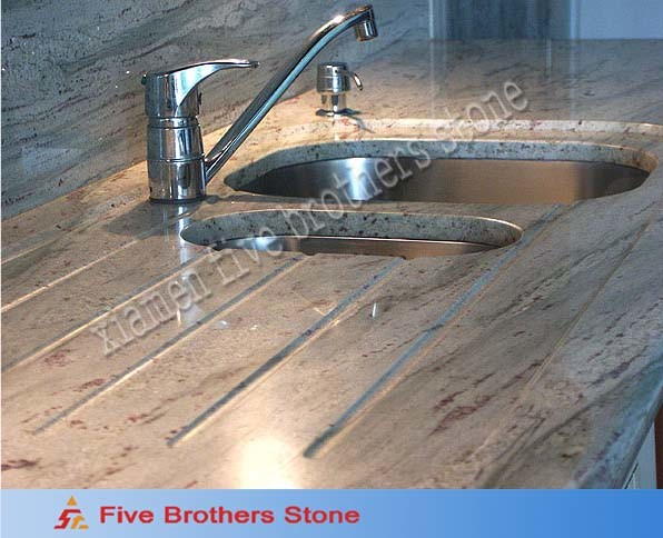 Kashmir White Granite Countertops