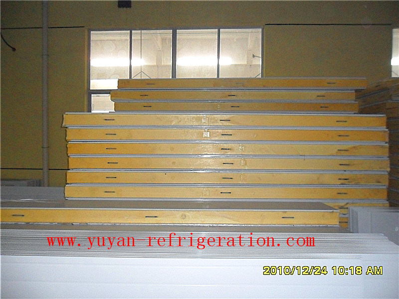 Polyurethane Sandwich Panel for Freezing Room