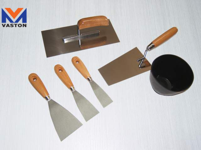6psc/Set Plastic Scraper Trowel with High Quantity