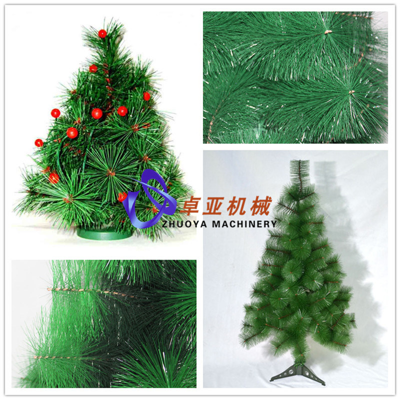 Plastic Christmas Tree Pine Needles Filament Making Machine