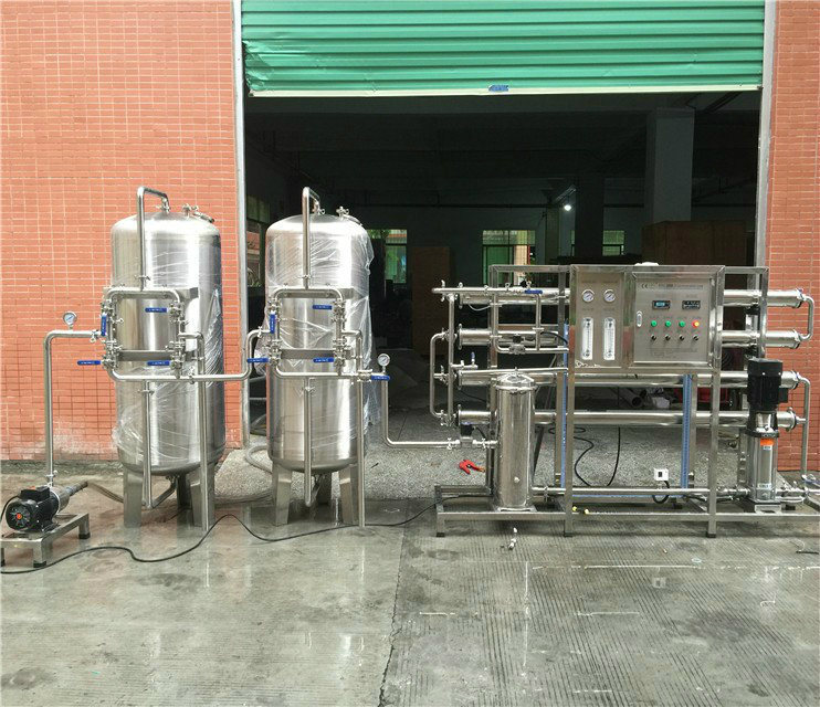 Ce ISO Approved 2000lph Full Stainless Steel RO Reverse Osmosis Water Purifier Reverse Osmosis Equipment