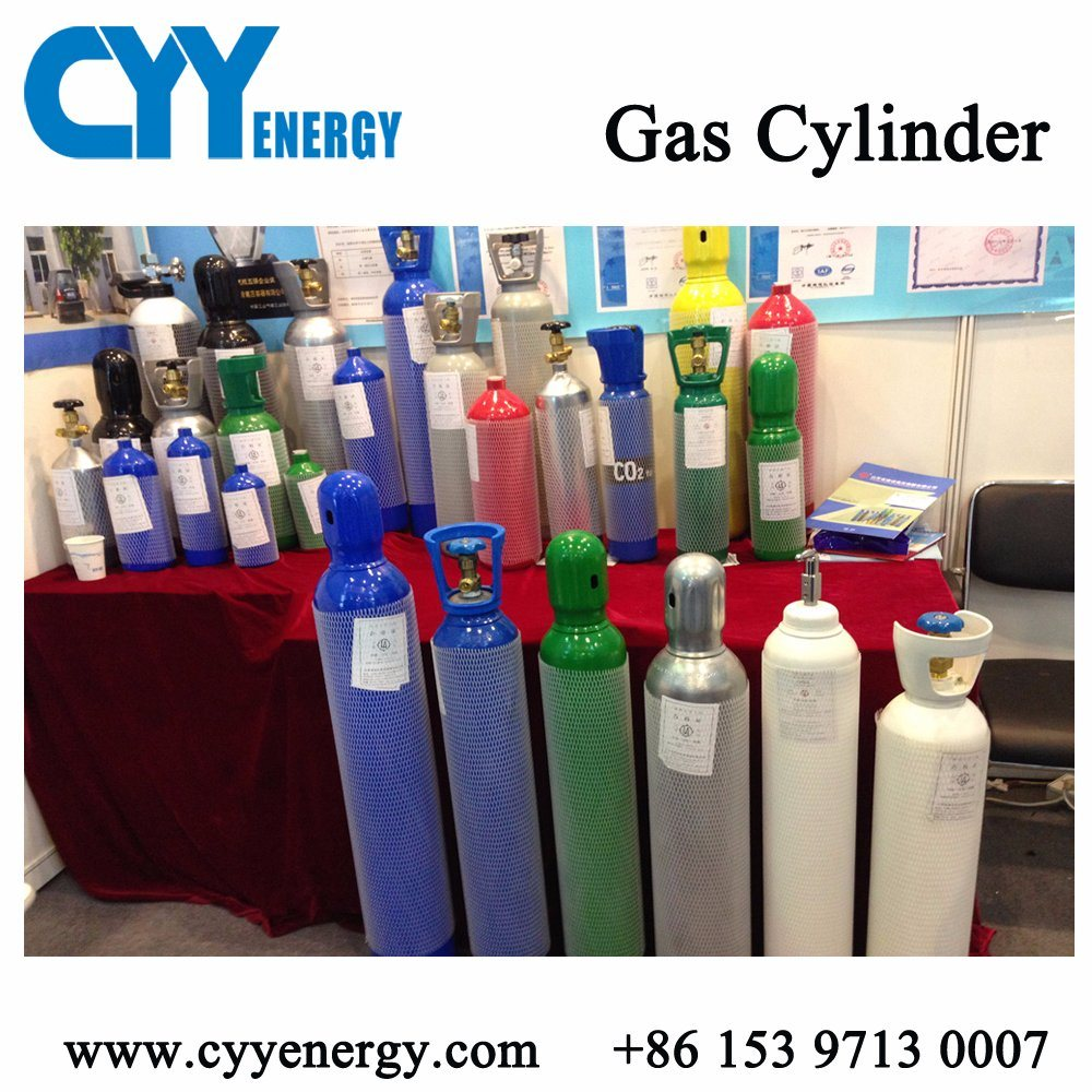 ISO9809 High Pressure Argon Oxygen Cylinder for 6m3/7m3/8m3/10m3 40L 47L 50L Gas Cylinder