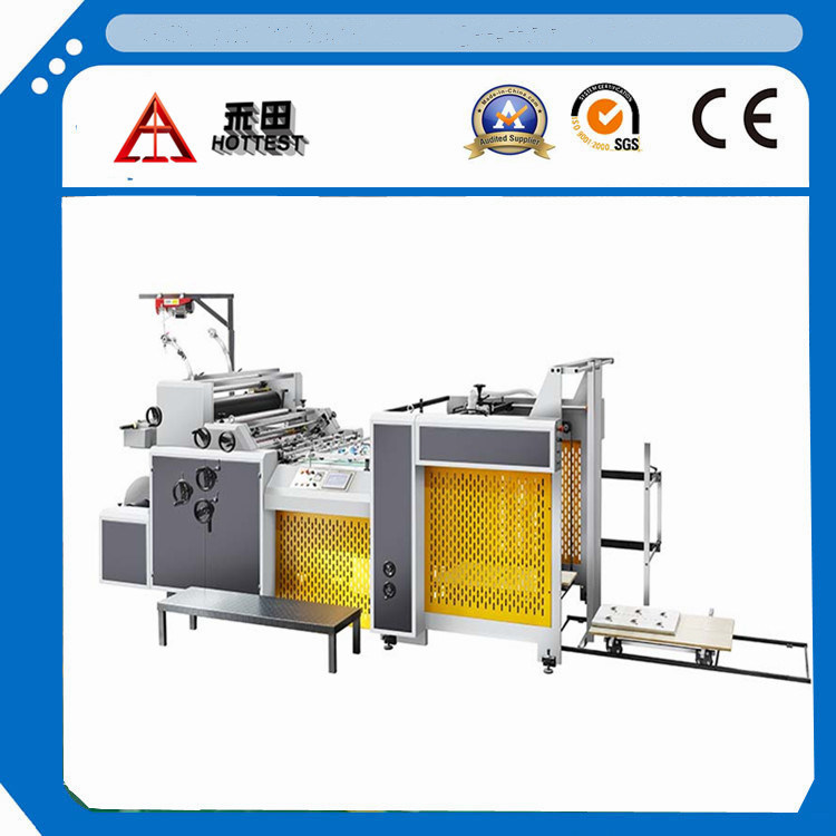 Electric Driven Type and Automatic Grade Cold Window Laminating Machine
