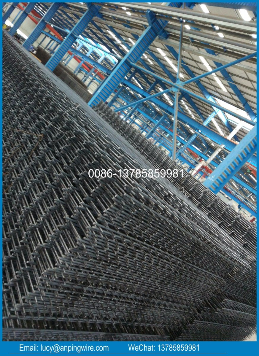 China Concrete Construction Building Rebar Netting Factory - China ...