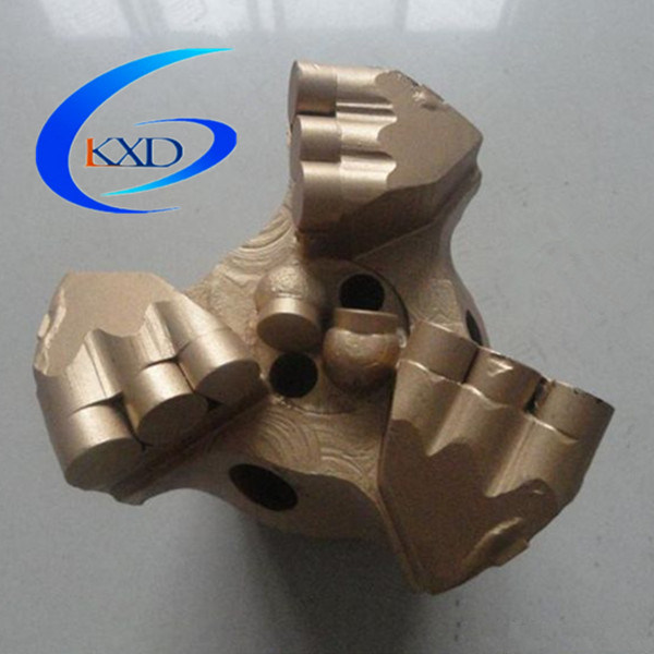"API 4 5/8"" 3 Wings PDC Drag Bit"