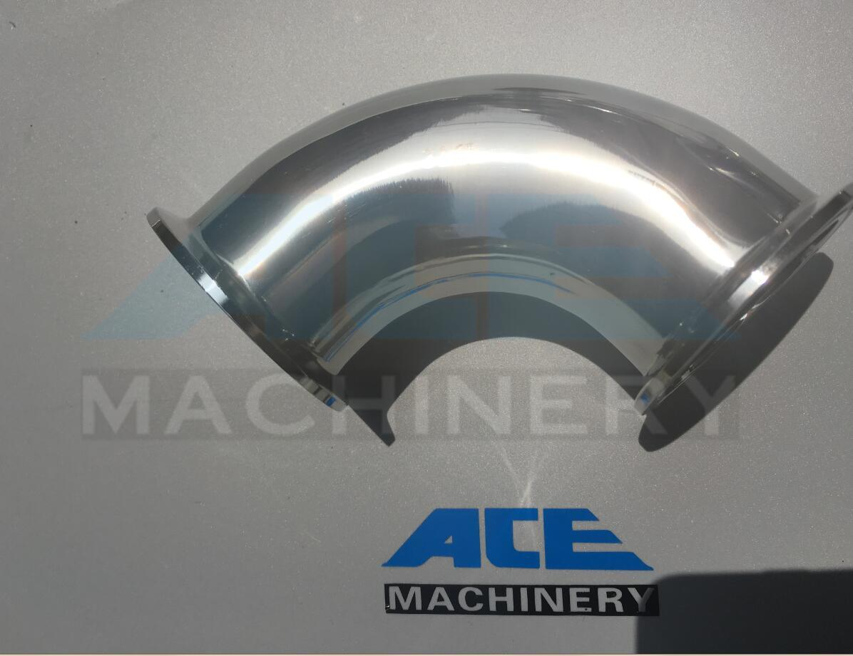 Stainless Steel Hygienic Welded 90d Long Elbow Pipe Fitting (ACE-PJ-E6)