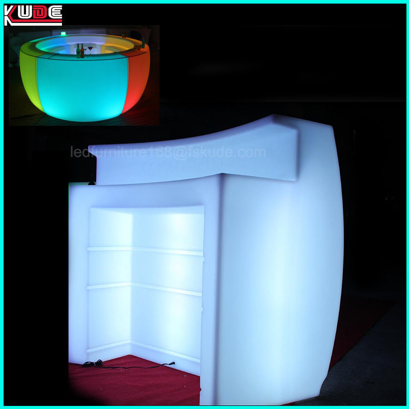 Multi Color LED Bar Counter Industrial-Style Bar & Counter Stools