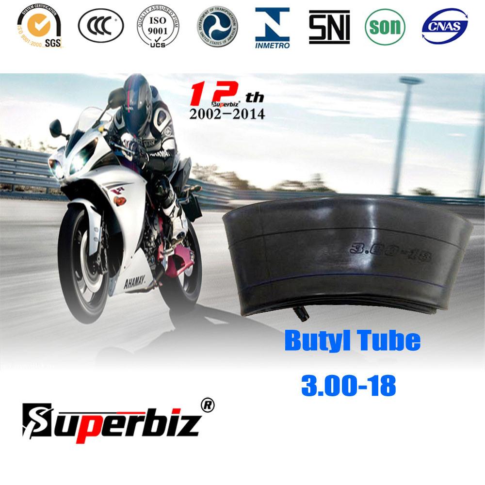 Tr4 Valve Butyl Motorcycle Tube (3.00-18)