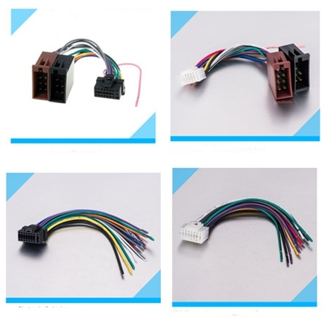 Automobile Car Pioneer/Jvc/for Sony/Alpine Audio Wire Harness