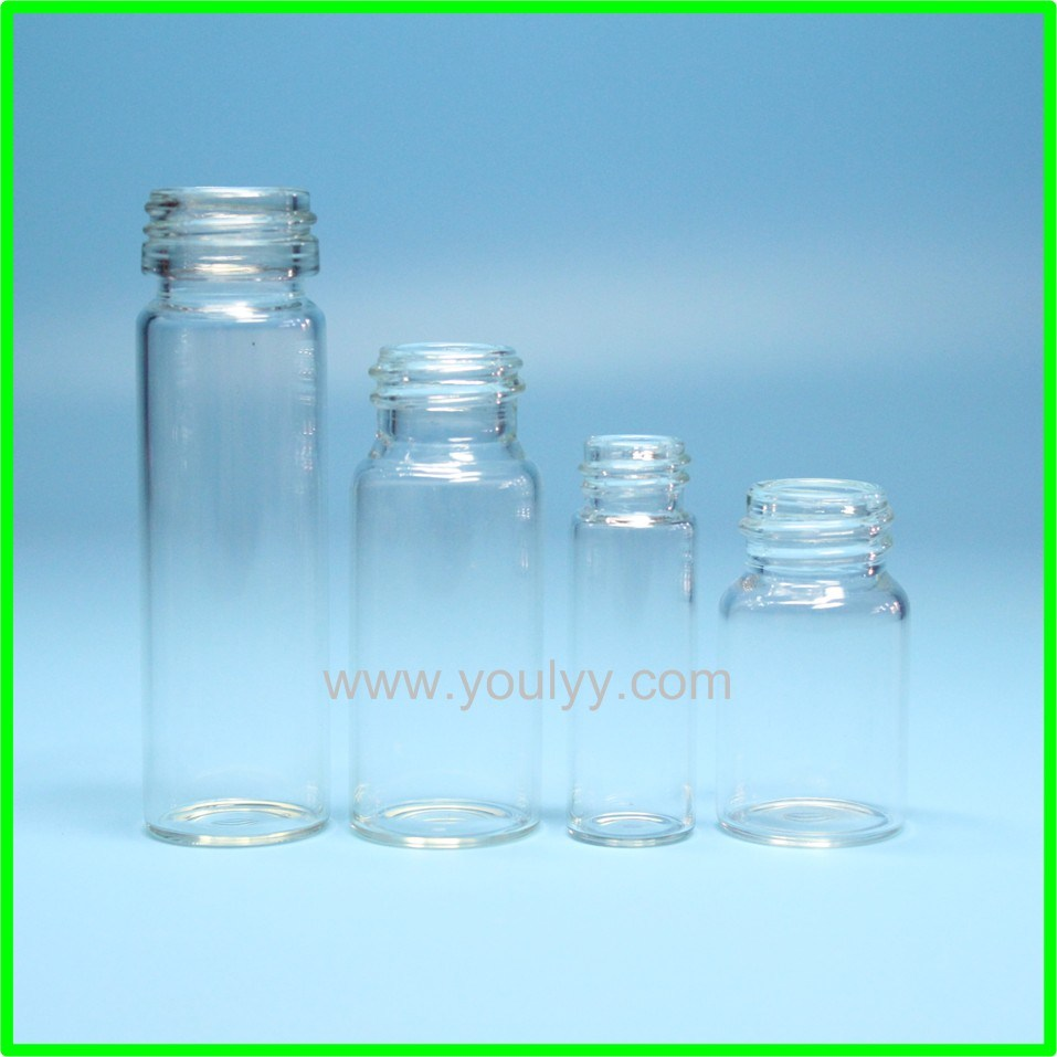 Glass Screw Cap Bottles