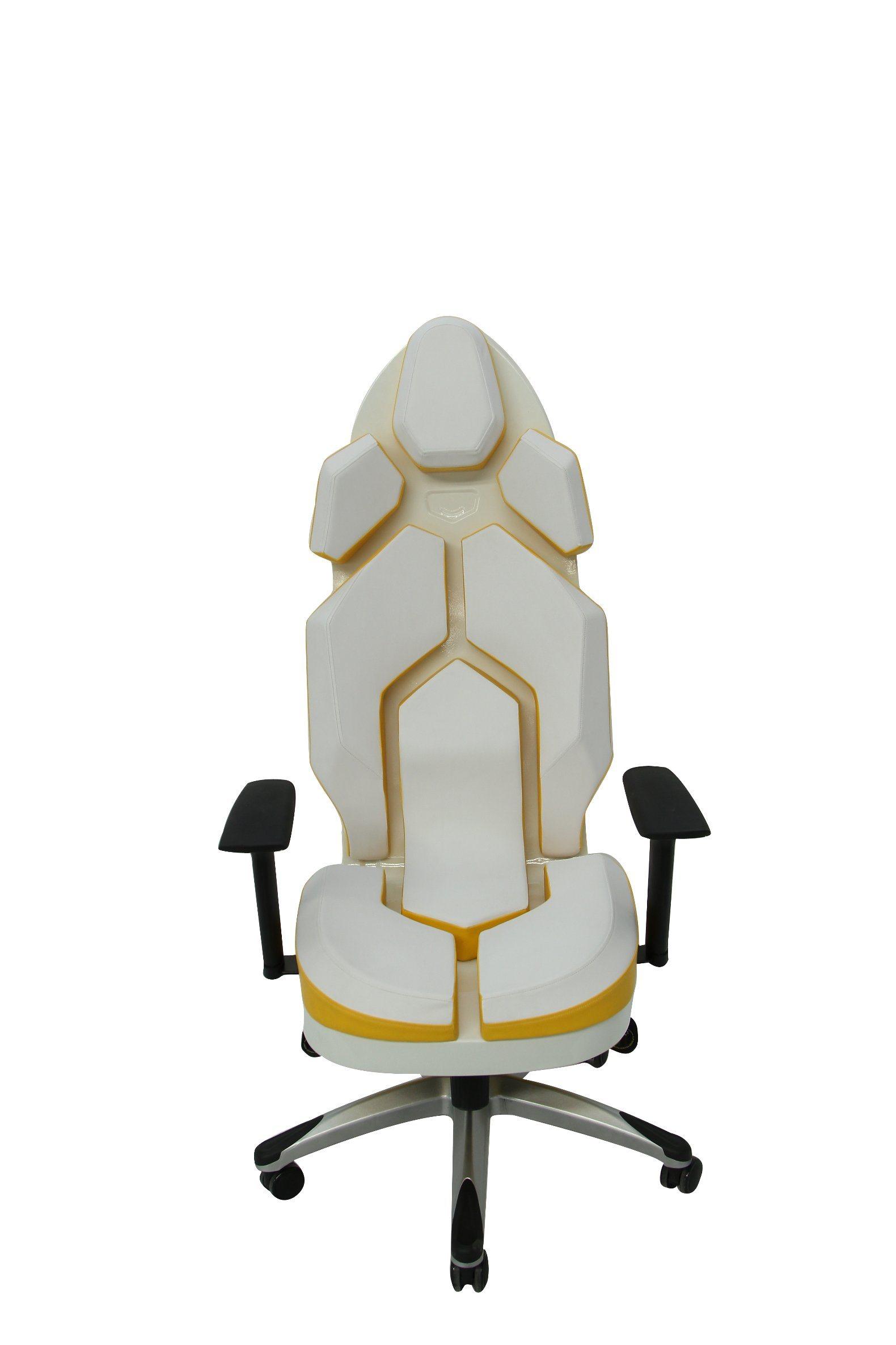 Luxury Yellow Fashion PU Office Chair