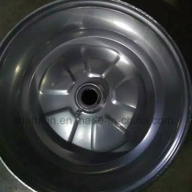 8X7 8X10 8X12 4X12 Steel Trailer Wheel for USA