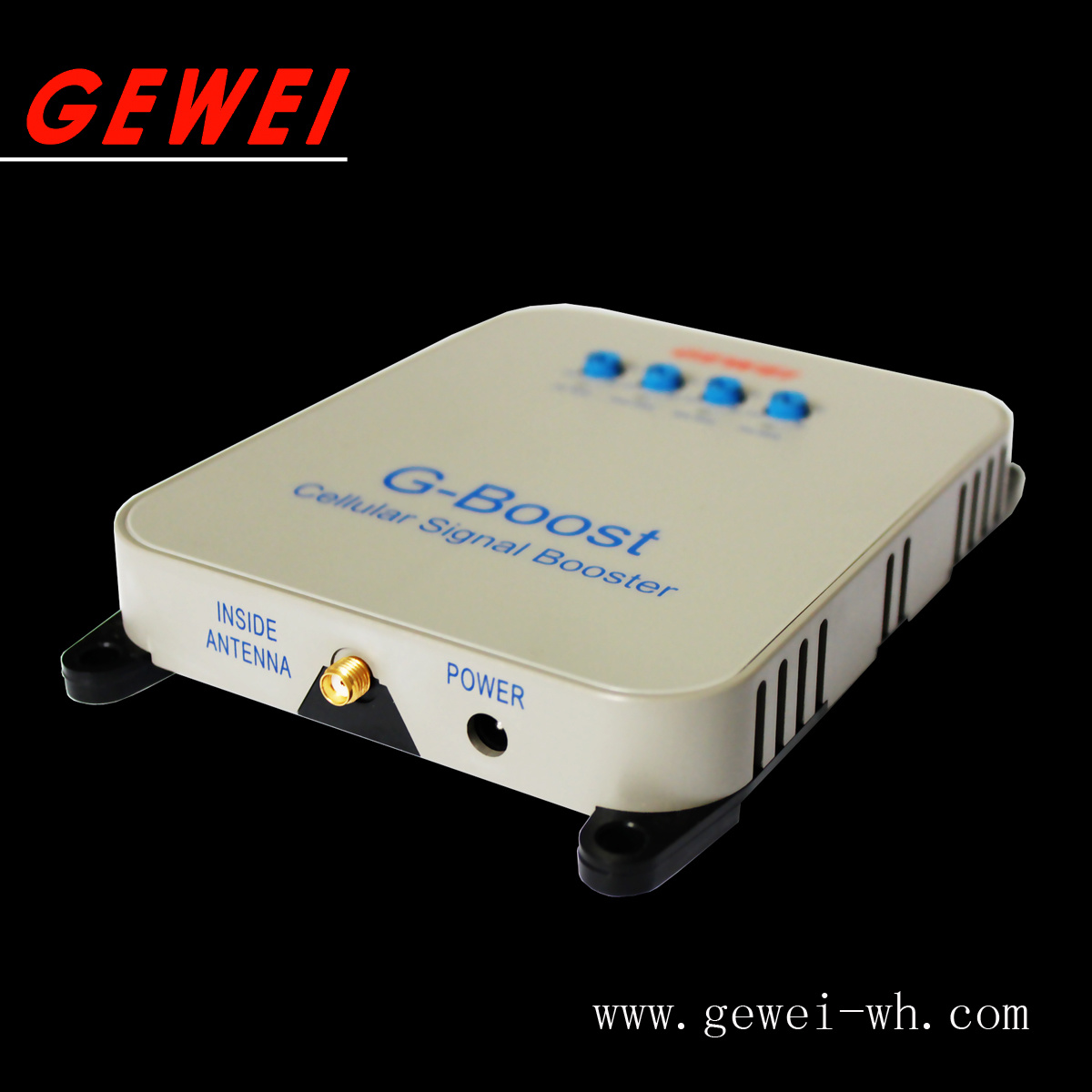 Gewei Wall-Plug Wireless Cellphone Signal Repeater Mobilephone Signal Booster for Home