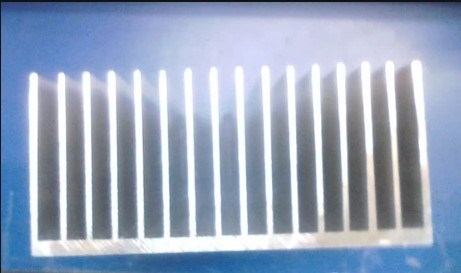 125mm Width Heat Sink Aluminum Profile 125mm*55mm Length Can Be Custom-Made