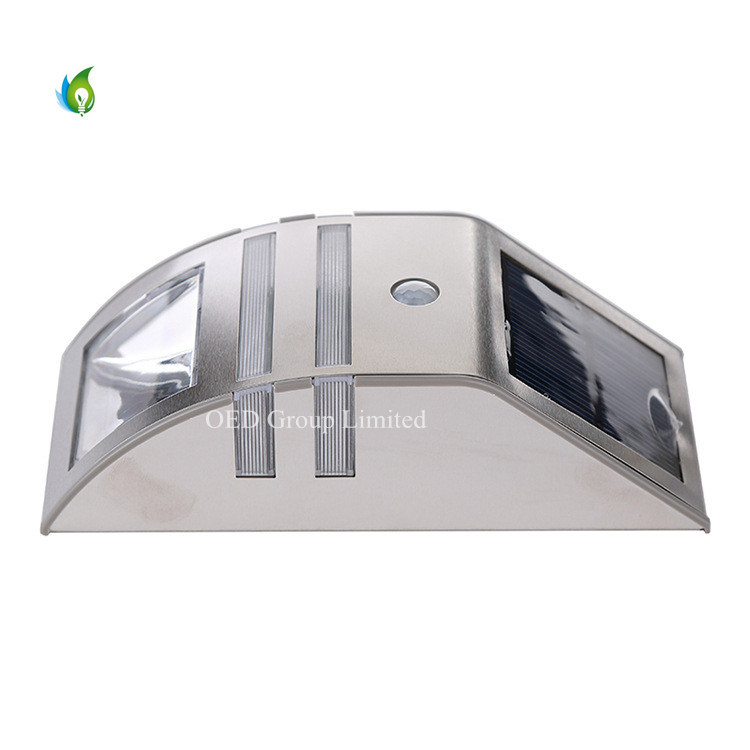 PIR Sensor Solar Garden Lights LED Outdoor Wall Lamps