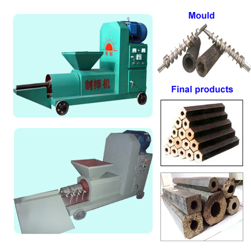 Wood Briquette Maker ~ China salable wood briquette press machine zbj