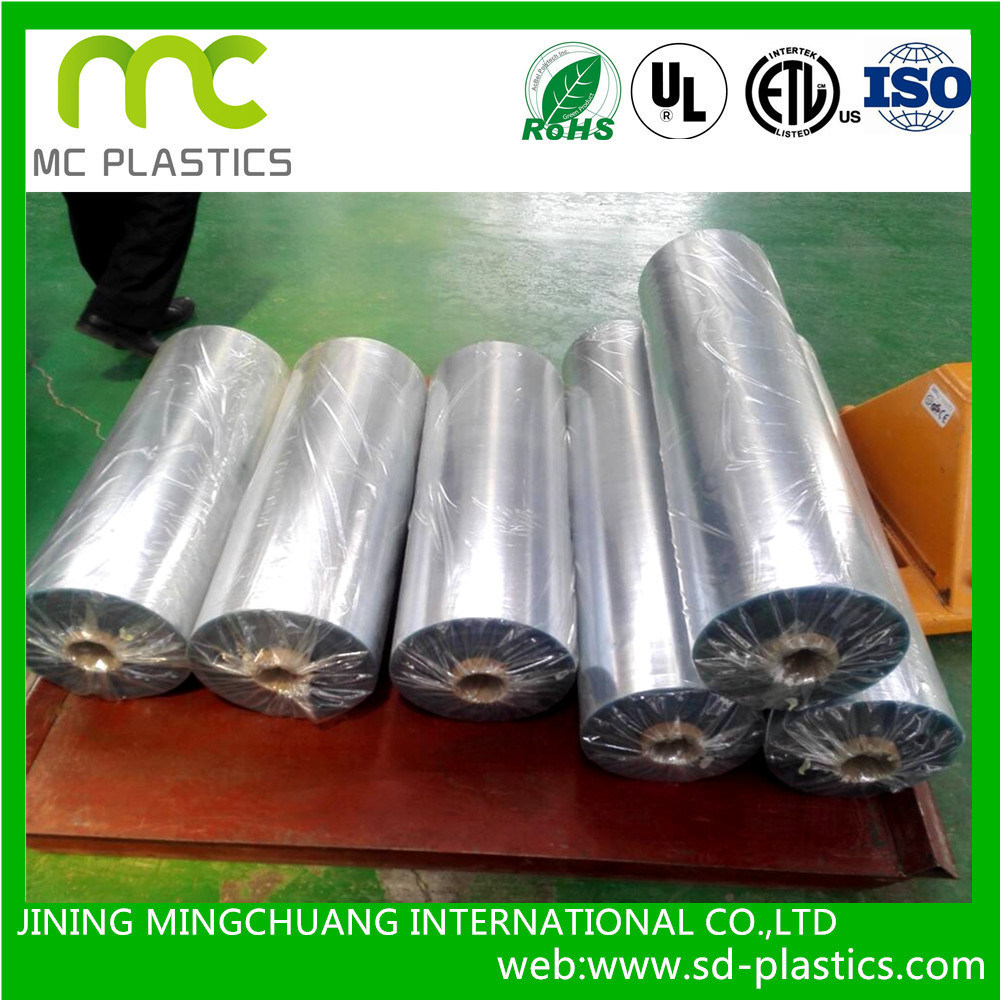 PVC Soft/Clear/Flexible/Phathalate-Free/Static/Auti-UV Film with Rolls