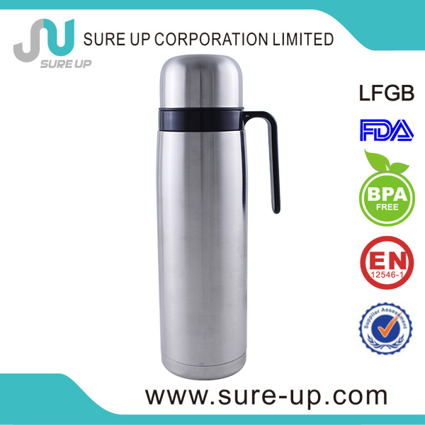 1.0L Vacuum Flask Tubo Yerba Mate Thermo with Straw (FSAS)