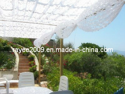Resort Decoration White Camouflage Netting