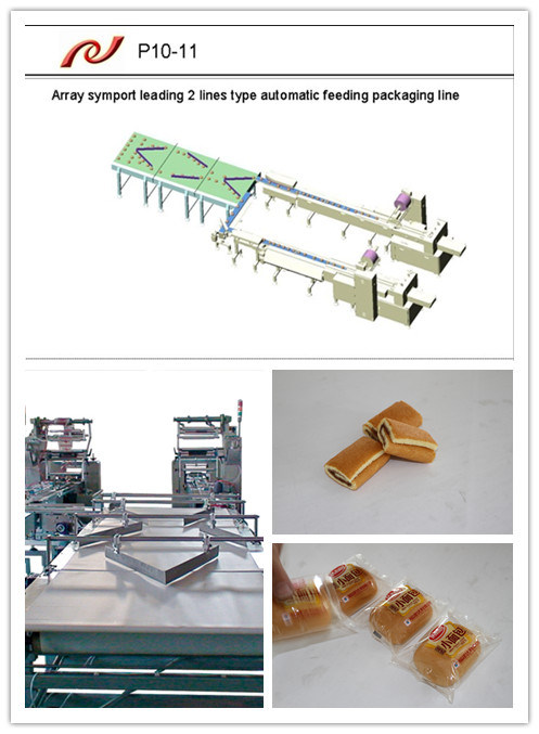 Swiss Roll Automatic Pillow Wrapper Machine