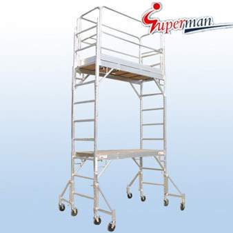 12 Ft. Aluminum Multi-Use Scaffolding Tower (SM-SA04)