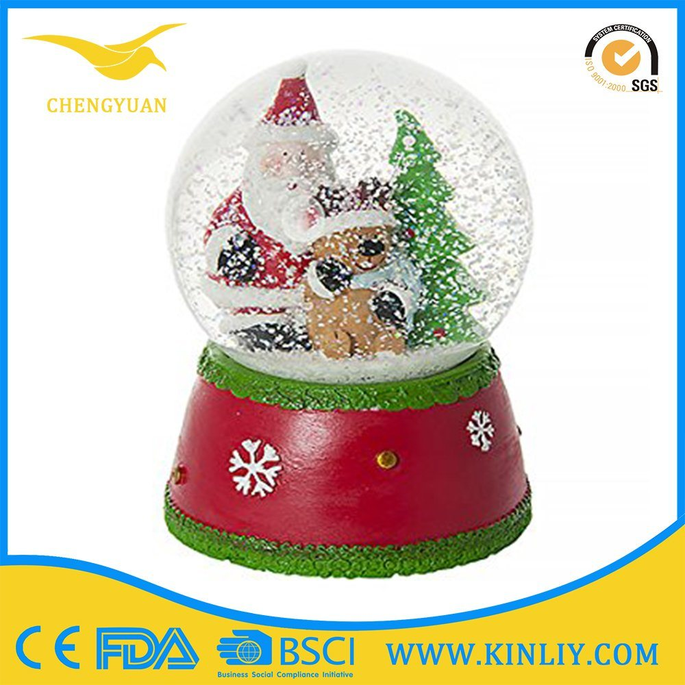 Wonderful Cartoon Custom Resin OEM Snowdome Snow Globe for Kid