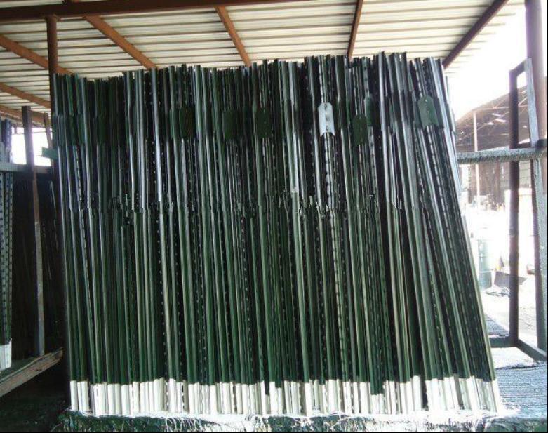 American 6FT 1.25lbs Farm Fence Studded T Post/Tee Post