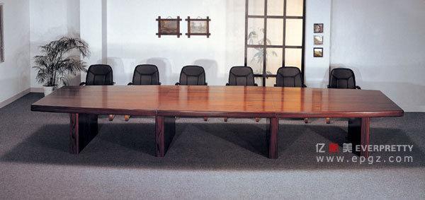 Vector de encuentro elegante de madera de confarence bc for Mesas de reuniones para oficinas