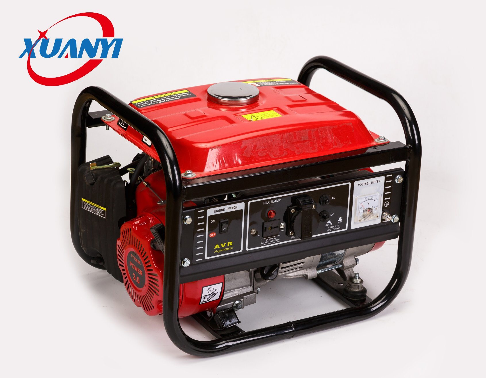 1kw Aluminium Wire Recoil Start Portable Small Silent Gasoline Generator
